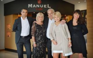 Manuel Caffè: il Natale è all'insegna della charity!