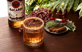 Rum Bacardí Anejo Cuatro: il cocktail delle feste Old4 creato dal barman Bruno Vanzan