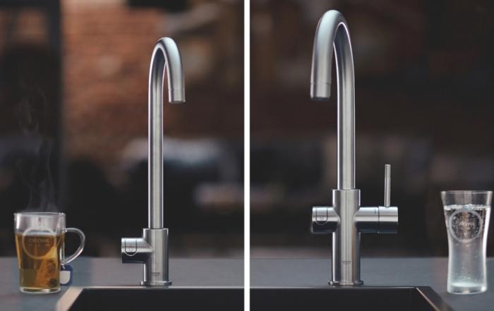 L'acqua del rubinetto non sarà più la stessa grazie a GROHE Blue Home e GROHE Red