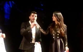 Il giovane pasticcere Mario Fiasconaro sul palco di Best in Sicily