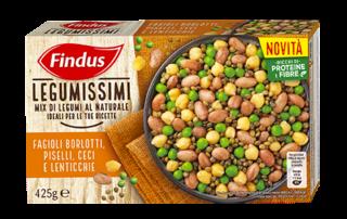 Ricette con i Legumissimi Findus, per portare in tavola in pochi minuti piatti saporiti e nutrienti