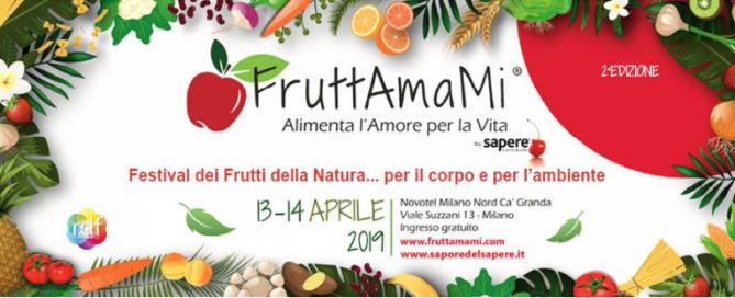 Al via in aprile la seconda edizione di FruttAmaMi