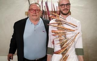 il premio maculan 2019 a simone gottardello del ristorante evo di bardolino