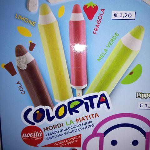 Sammontana: tra le novità dell'estate Colorita, il ghiacciolo a forma di matita!