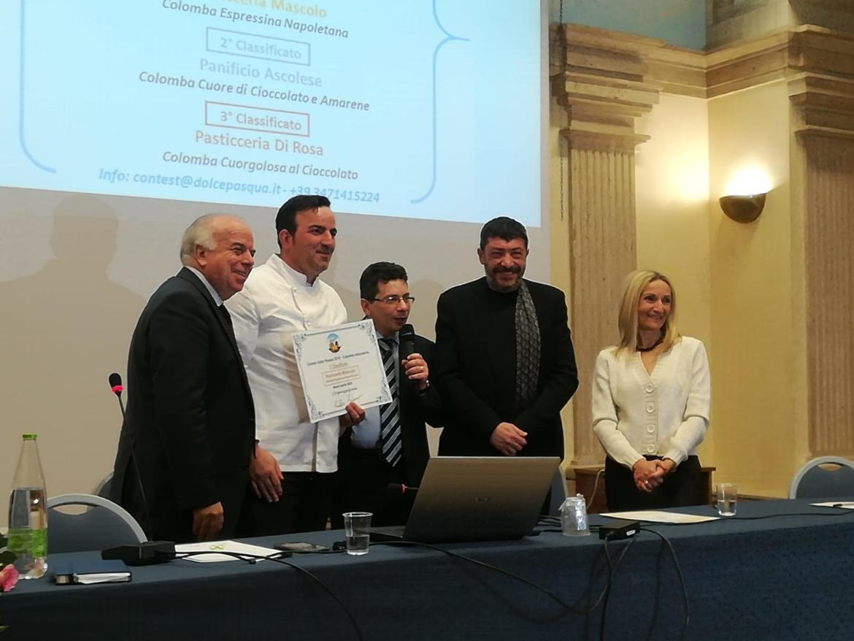 Alla presenza del Maestro Pasticcere Nicola Fiasconaro assegnati i premi del contest nazionale Dolce Pasqua