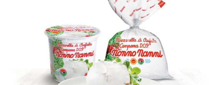 Novità Nonno Nanni: arriva la Mozzarella di Bufala Campana D.O.P.!