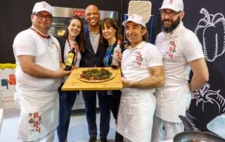 Amaro Lucano originale ingrediente della ricetta della Pizza dedicata alla città di Matera Capitale europea della Cultura 2019