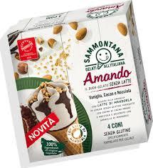 Amando Biscotto, il nuovo gelato Sammontana senza latte e senza glutine