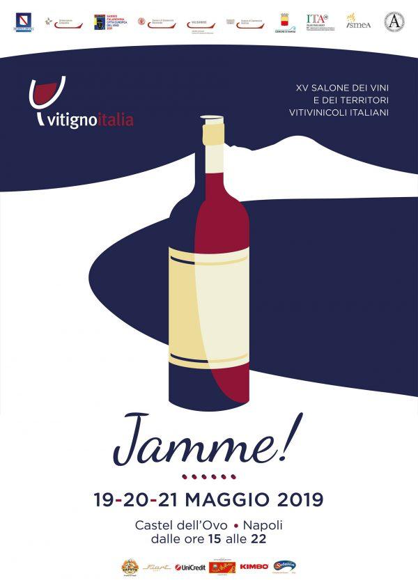 A Napoli XV edizione di VitignoItalia 2019 - dal 19 al 21 maggio