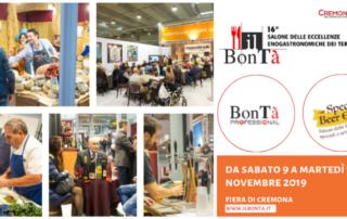 Il BonTà 2019: ciclo di serate-degustazioni di cucina italiana tradizionale