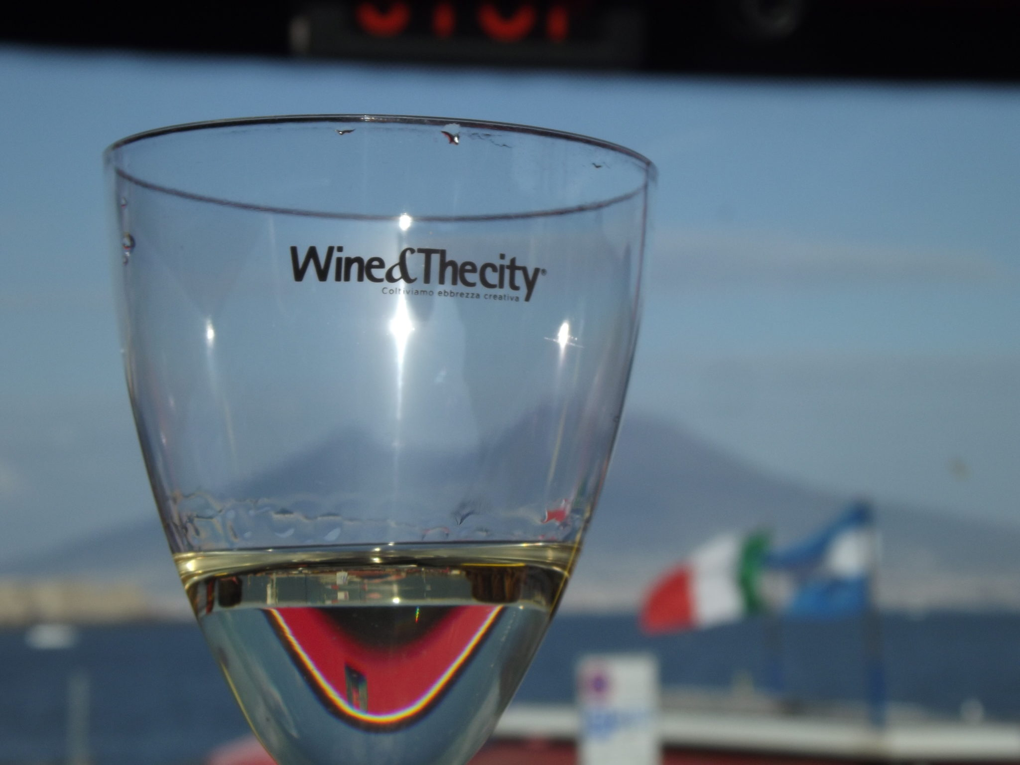 Wine&Thecity e City Sightseeing brindano al sole di Napoli