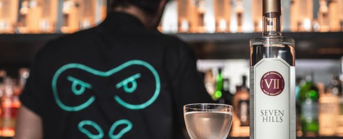 Il VII Hills Italian Dry Gin e il cocktail confidential al Drink Kong