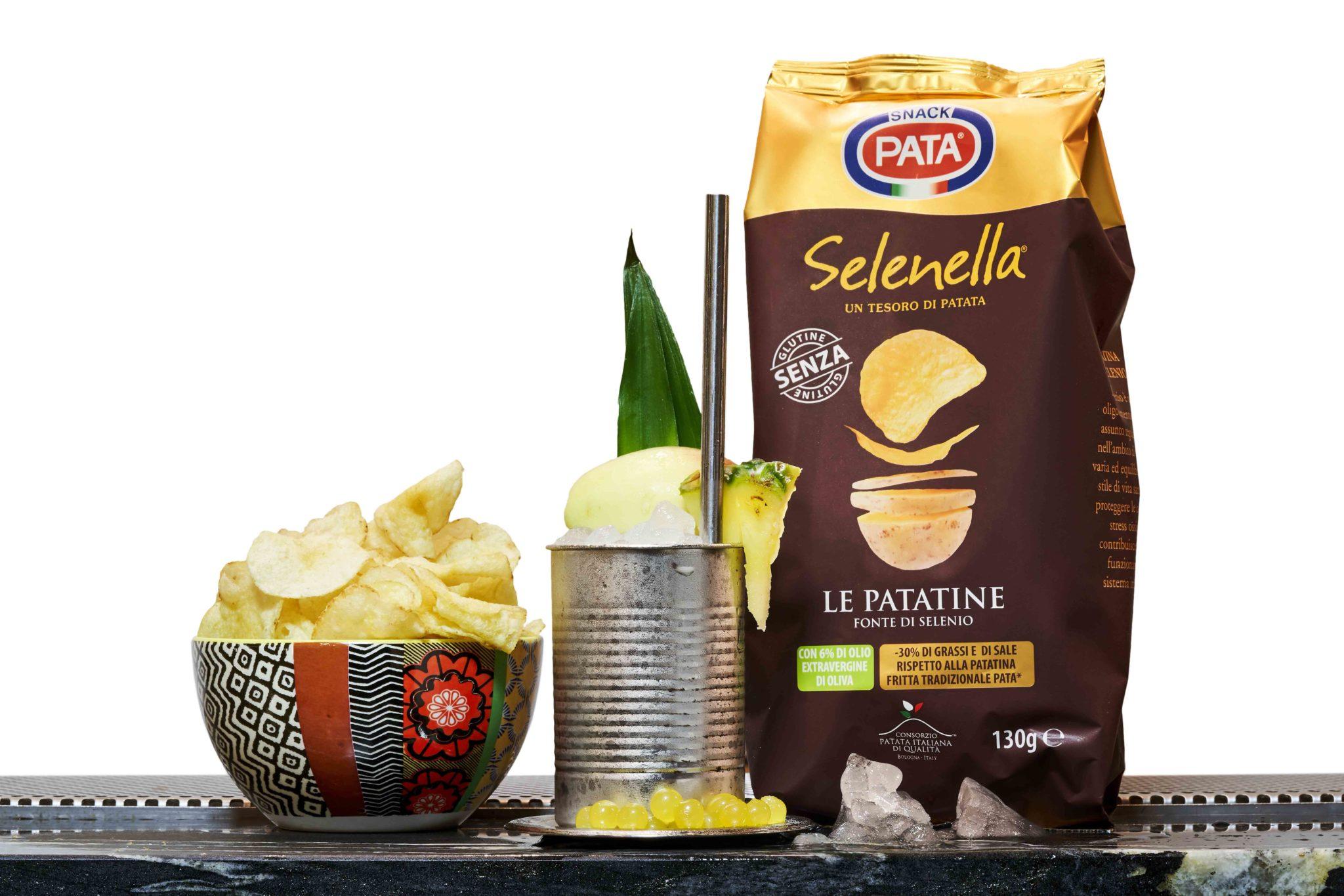 Patatine Selenella, per un aperitivo leggero ma ricco di gusto!