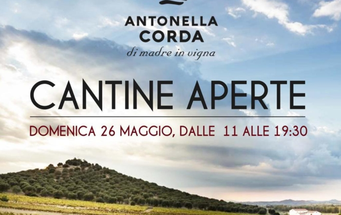 Antonella Corda: food&wine tra i vigneti per cantine aperte