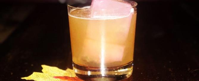 Cocktail AUTUMN IN NEW YORK di Mario Farulla del Ristorante Baccano di Roma