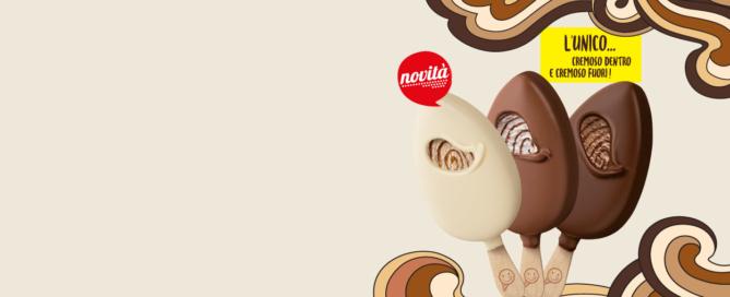 Cono Cinque Stelle Caramello Salato, la novità dell'estate 2019 di Sammontana