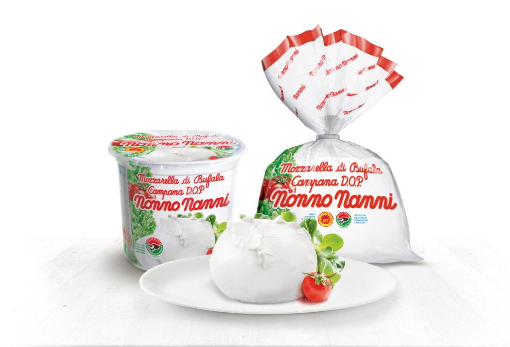 Da Nonno Nanni la Mozzarella di Bufala Campana D.O.P., un'eccellenza casearia tutta italiana