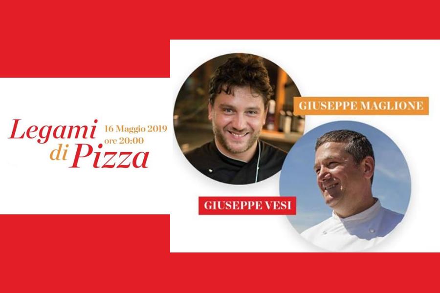 Termina in parità la sfida Legami di Pizza fra Giuseppe Vesi e Giuseppe Maglione