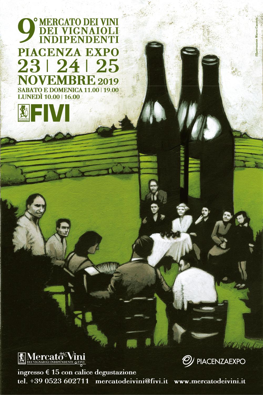 Mercato Fivi a Piacenza: un giorno in più per incontrare i vignaioli indipendenti