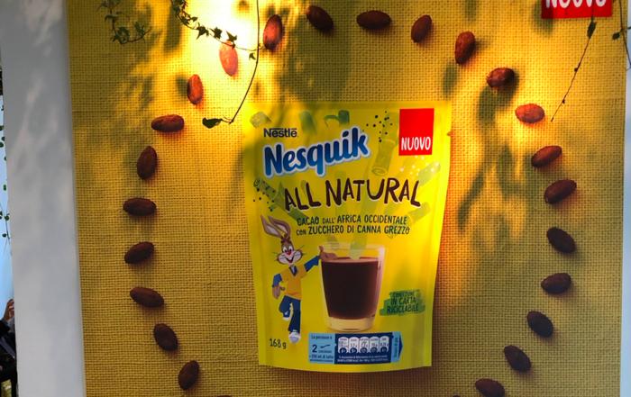 Nestlé lancia Nesquik All Natural, per una colazione sana e sostenibile
