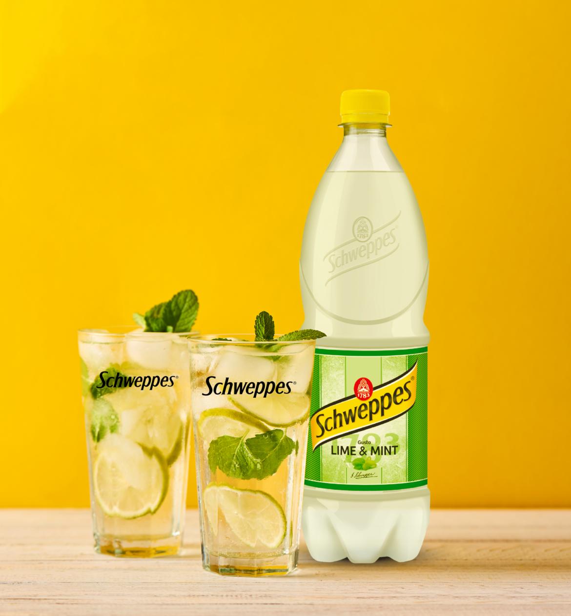 Schweppes Lime Mint, per un'estate all'insegna della freschezza e del gusto