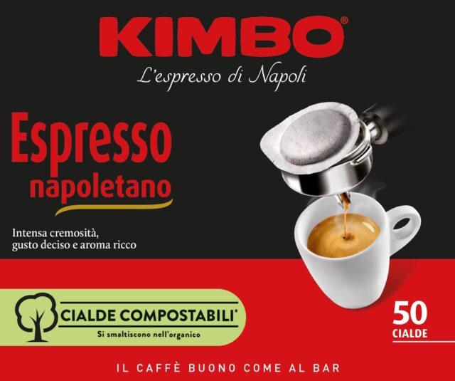 Kimbo lancia la nuova linea di cialde compostabili