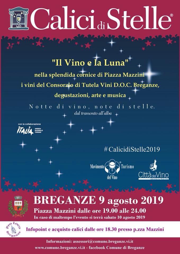 Calici di stelle 2019: a breganze si brinda con i vini della doc