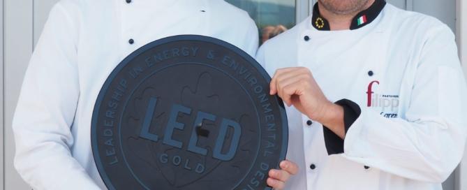 Oro nella leed certification: nuovo traguardo per la Pasticceria Filippi