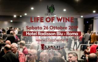 Life of Wine si terrà a Roma sabato 26 ottobre invece di domenica 27 ottobre
