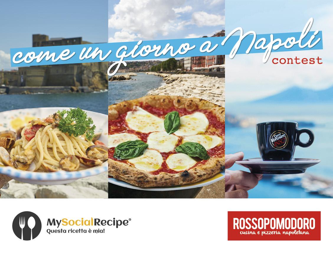 """2a edizione del contest internazionale Rossopomodoro Award """"Come un giorno a Napoli"""""""