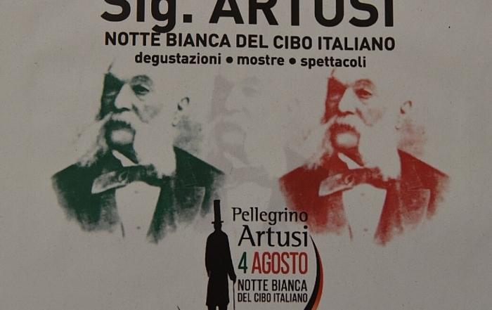 Notte Bianca del Cibo Italiano: omaggio a Pellegrino Artusi