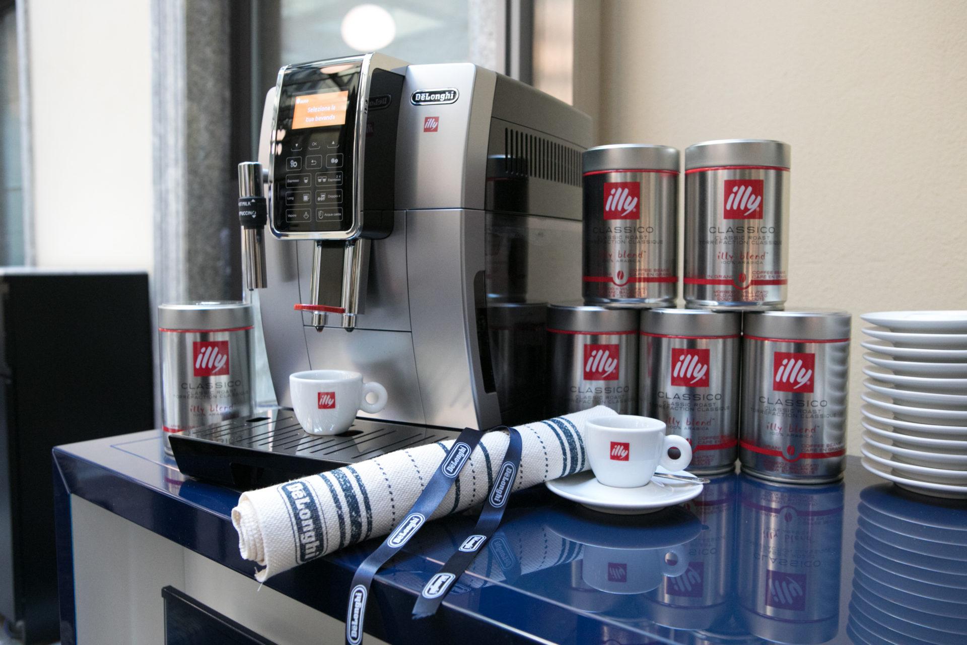 De'Longhi for illy: preparare l'espresso è un'arte