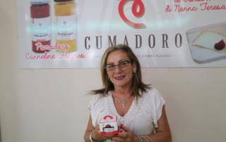 Nonna Teresa con la sua confettura di Pomodoro Cannellino Flegreo