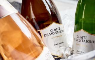 Comte de Montaigne porta in Italia lo Champagne delle Crociate
