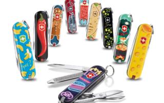 Victorinox, cibo del mondo: disegni per il coltello da tasca