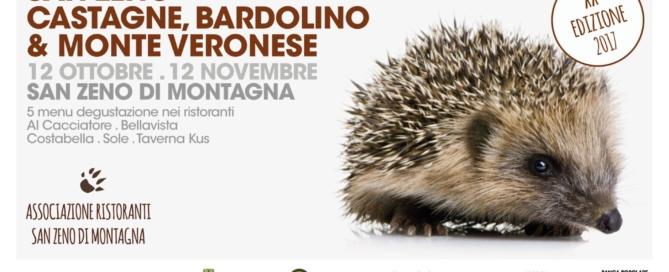Bardolino e castagne: i protagonisti dell'autunno sul monte baldo