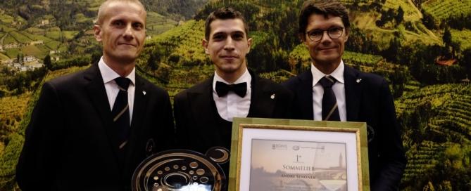 Andrè Senoner è il miglior sommelier del soave 2019