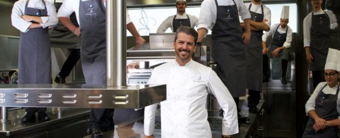 Tutti a scuola di cucina con lo chef stellato Andrea Berton!
