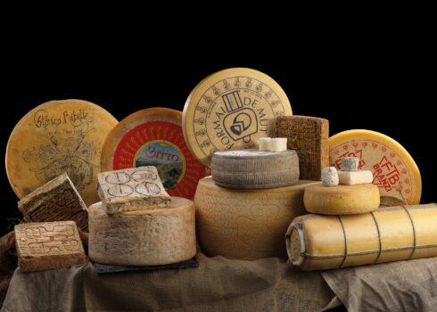 I formaggi, orgoglio italiano