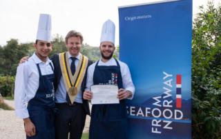 Il Norwegian Seafood Council nomina Giovane Ambasciatore dello Stoccafisso 2019 lo chef calabrese Francesco Cardace