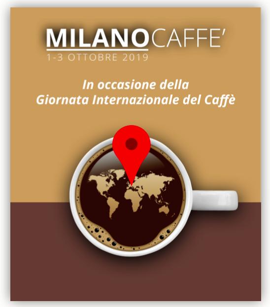Eventi di MilanoCaffé per celebrare 1° ottobre la Giornata internazionale del caffè