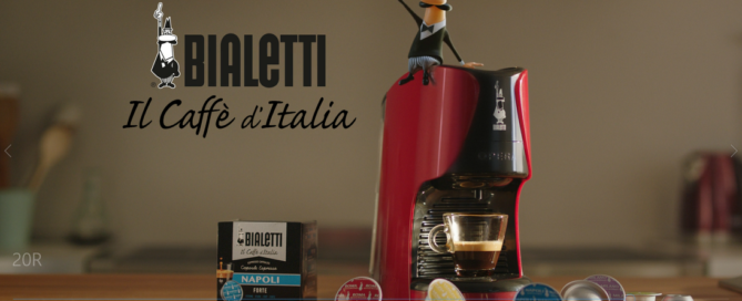 Bialetti compie 100 anni: torna in tv l'Omino coi Baffi