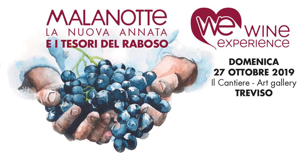 Raboso Wine Experience 2019: il Melanotte alla Galleria d'Arte di Villorba