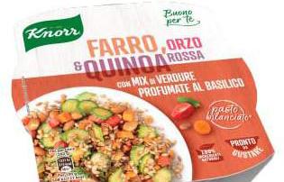 Knorr lancia le insalate di cereali Buono per Te
