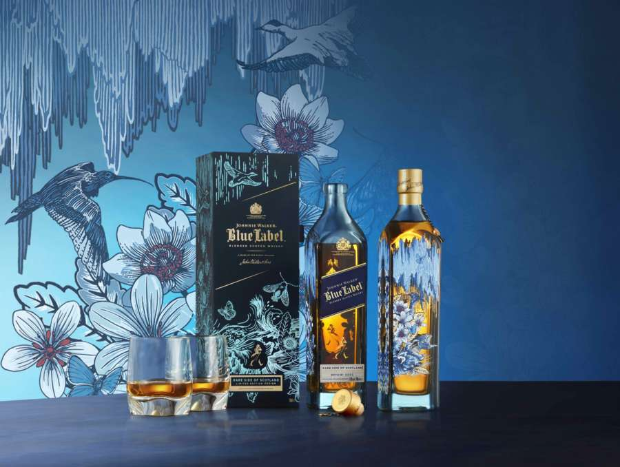 Johnnie Walker Blue Label Rare Side of Scotland, un regalo di Natale prezioso e unico!