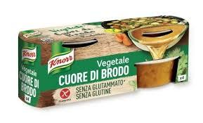 Cuore di Brodo Vegetale Knorr, gustoso come quello fatto in casa
