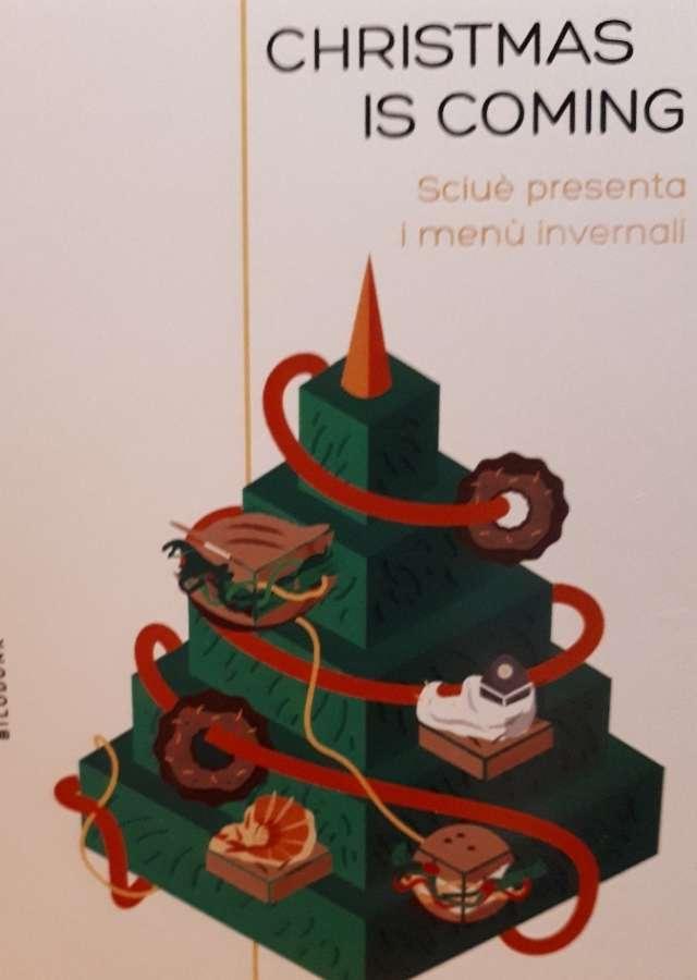 Il cenone di Natale nel panino Sciuè