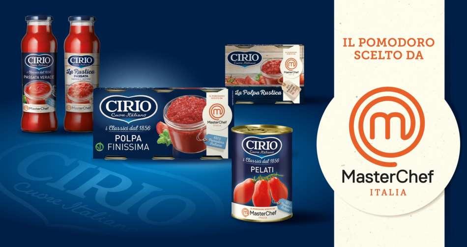 Masterchef Italia sceglie il il pomodoro Cirio