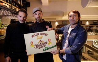 Master Burger Cup by BRACIAMIANCORA assegnata allo chef Carlo Giambertone