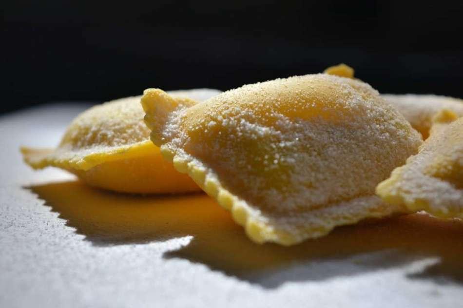 Ravioli al limone del maestro Mauro Secondi